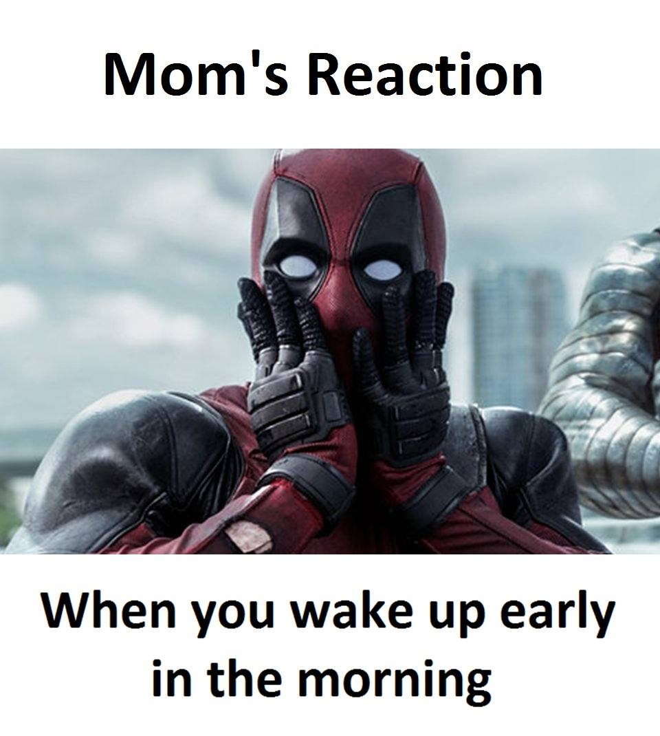 Mom's Reaction...