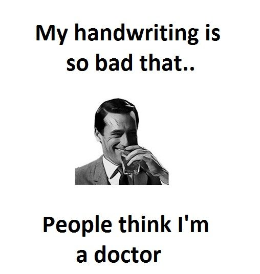 My Handwriting Is...