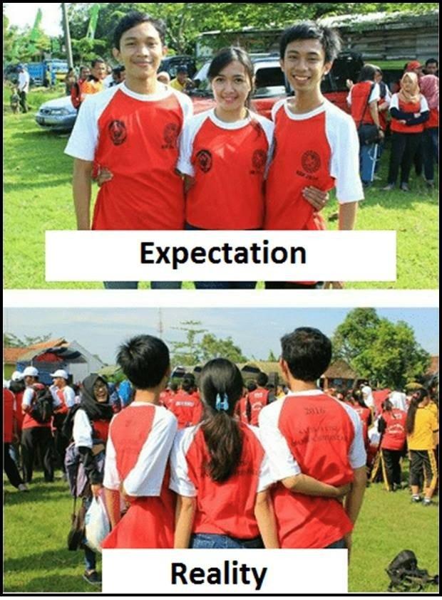 Expectations vs Reality...