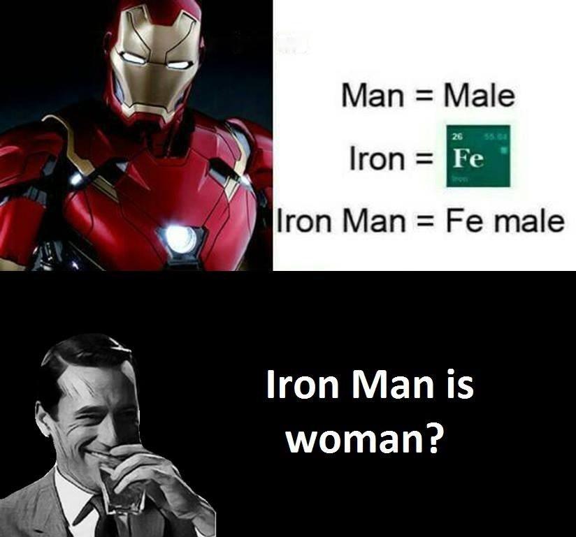 Iron Man Is...