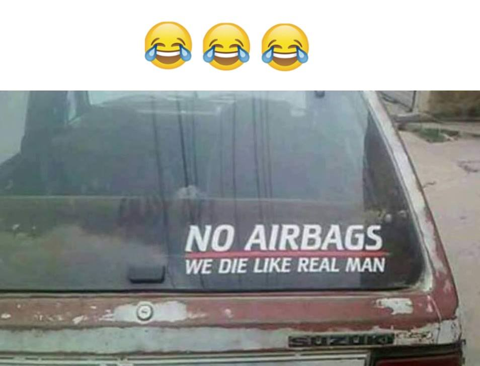 No Airbags...