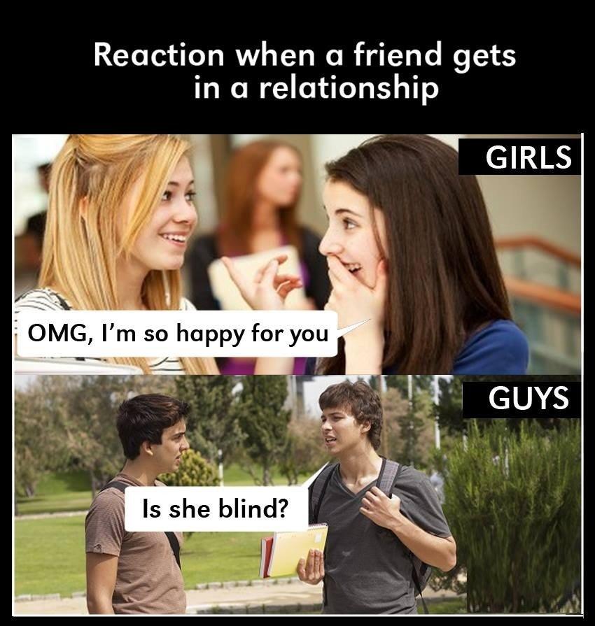 Reaction When A...