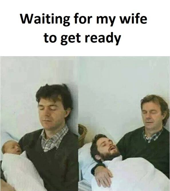 Waiting For My...
