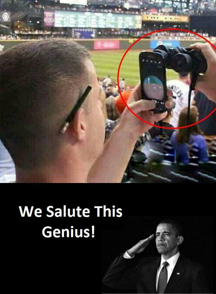 We Salute This...