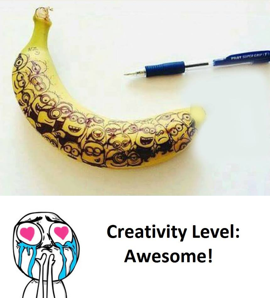 Creativity Level: Awesome...