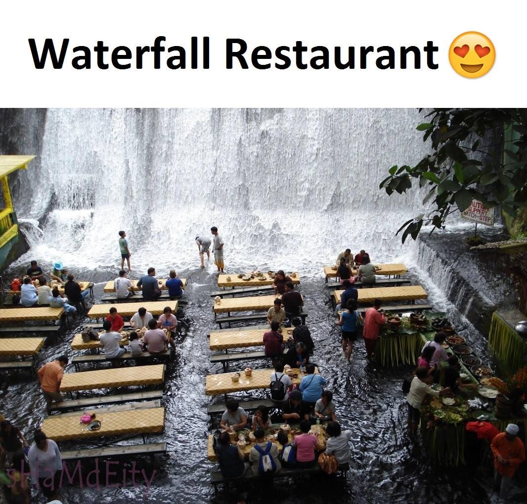 Waterfall Restaurant...