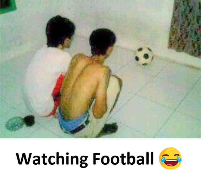 Watching Football...