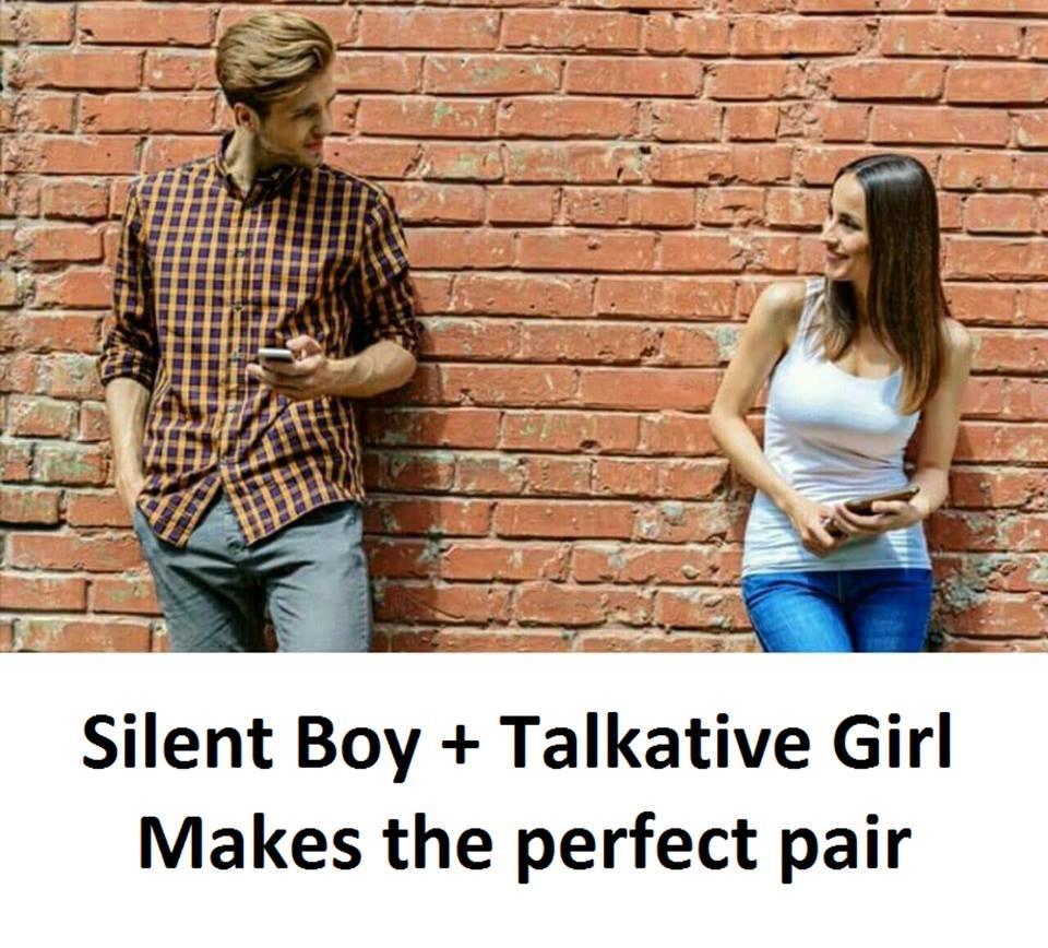 Silent Boy + Talkative...