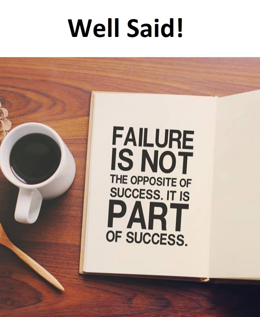 Failure Is Not...