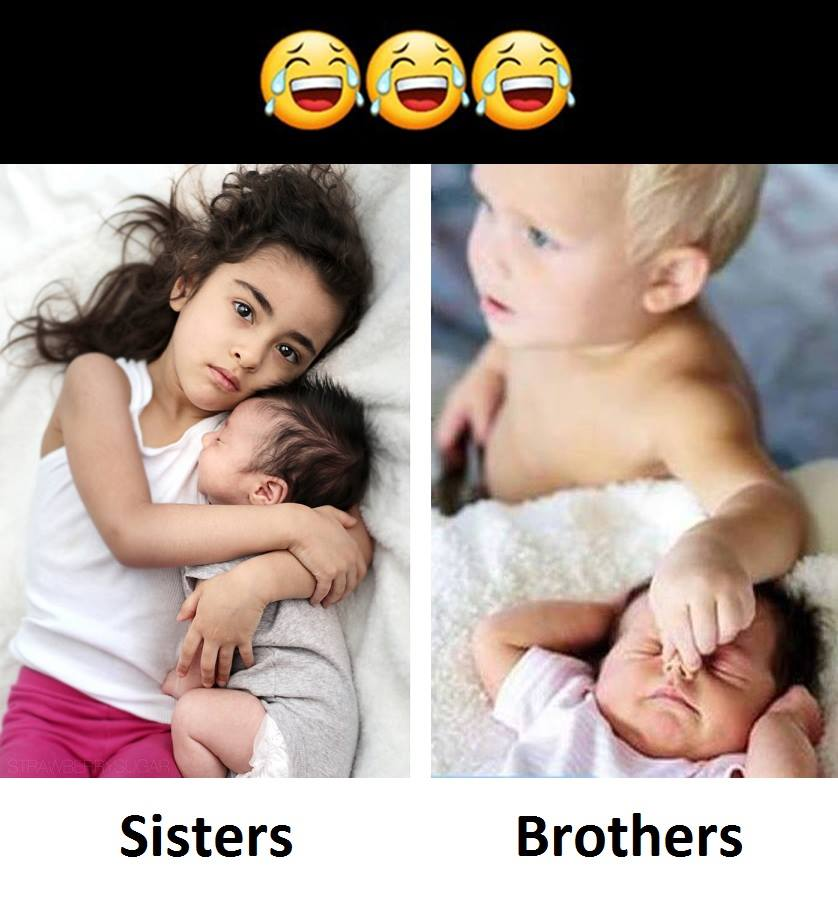 Sisters Vs Brothers...