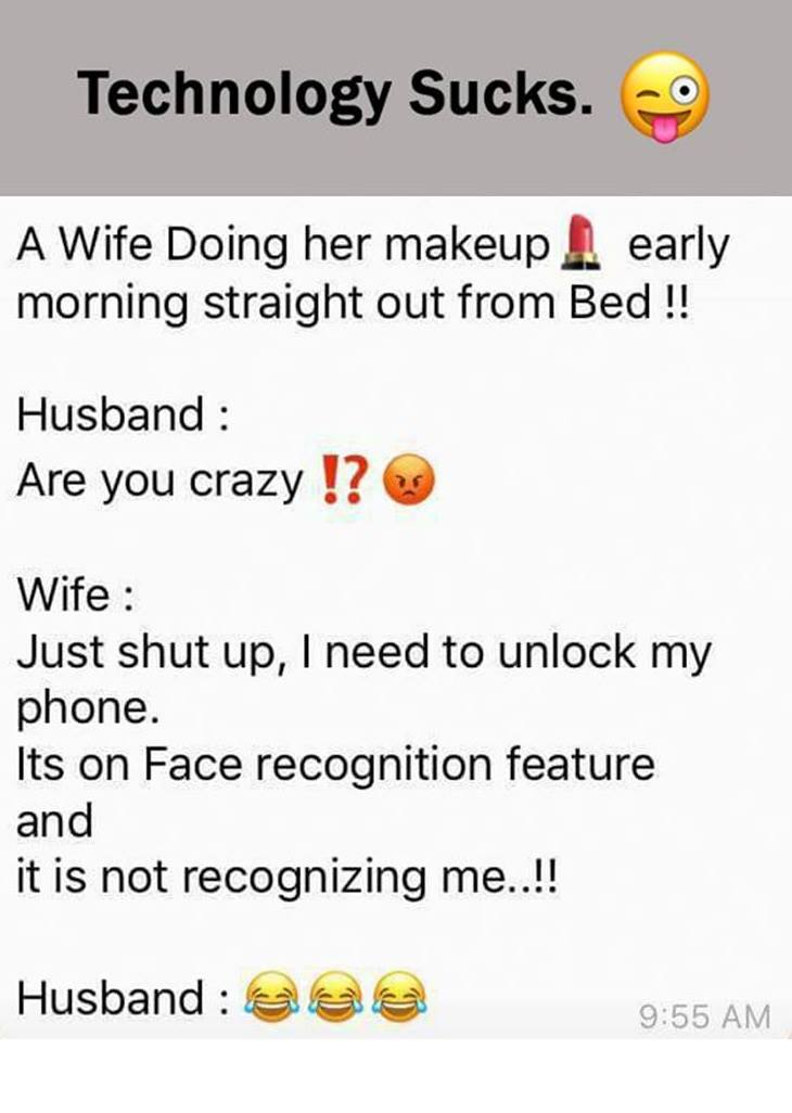 A Wife Doing...