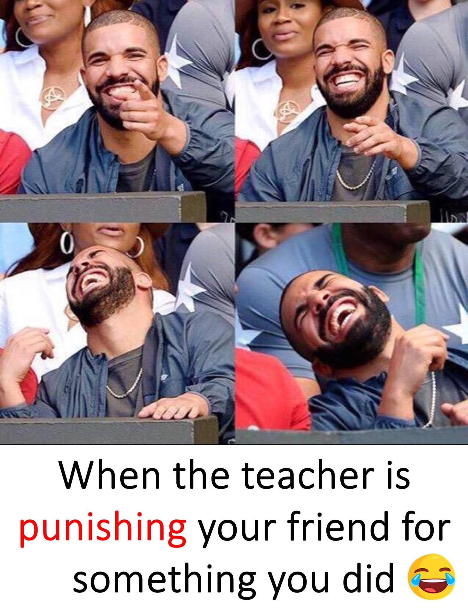 When The Teacher...