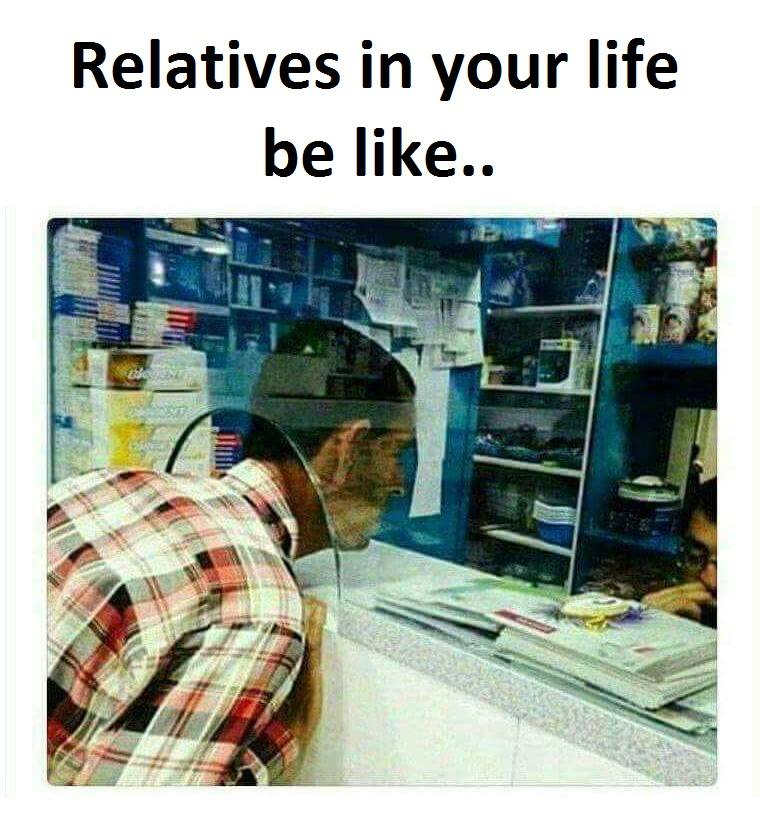 Relatives In Your...
