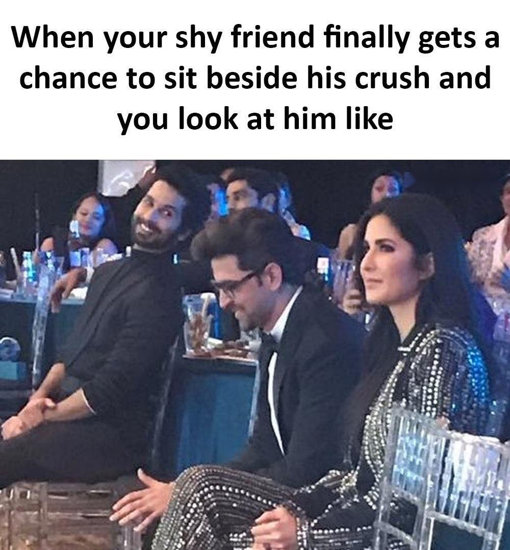 When Your Shy...