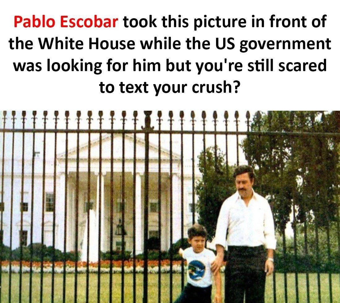 Pablo Escobar Took...