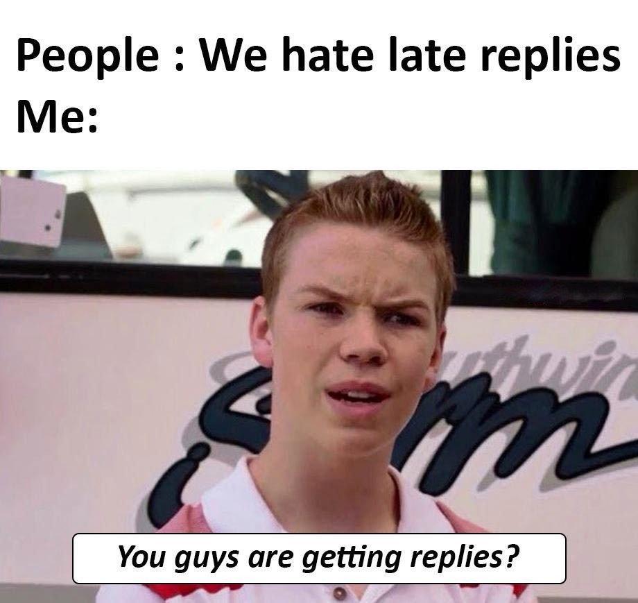 People: We Hate...