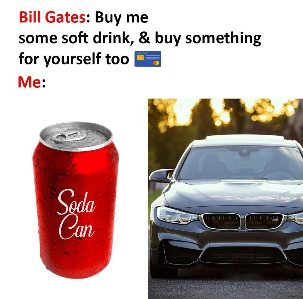 Bill Gates: Buy...