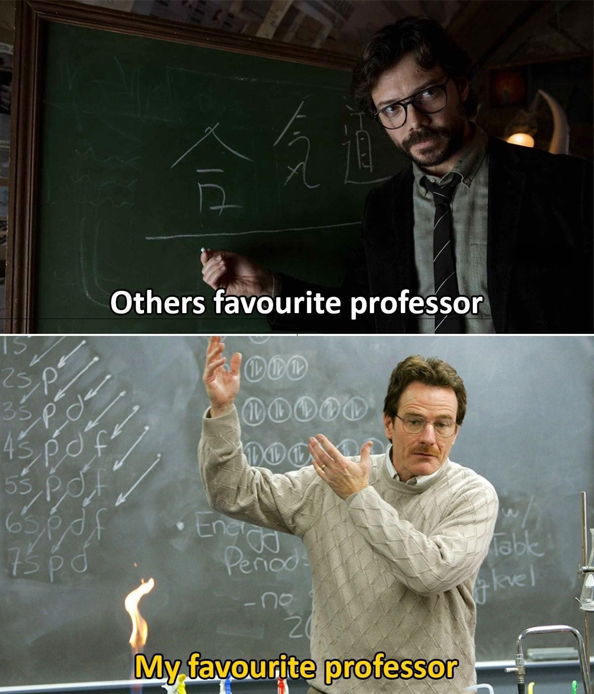 Other Favorite Professor...