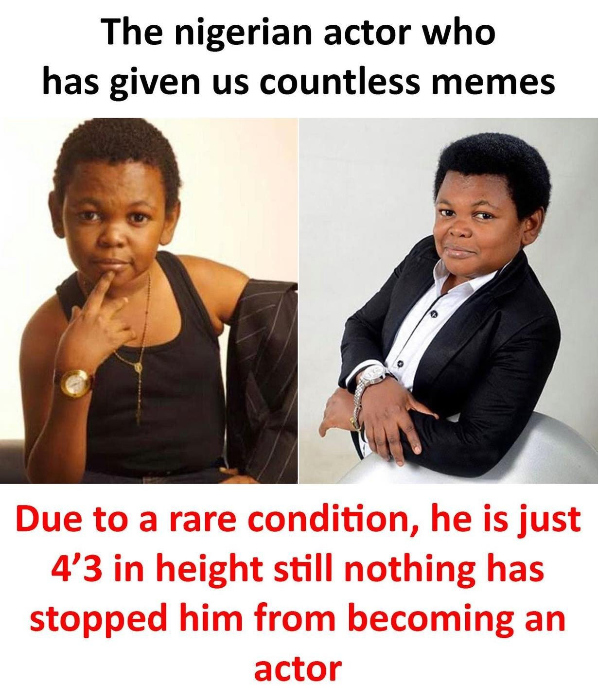 The Nigerian Actor...
