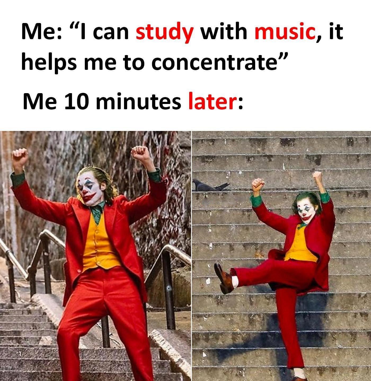 I Can Study...