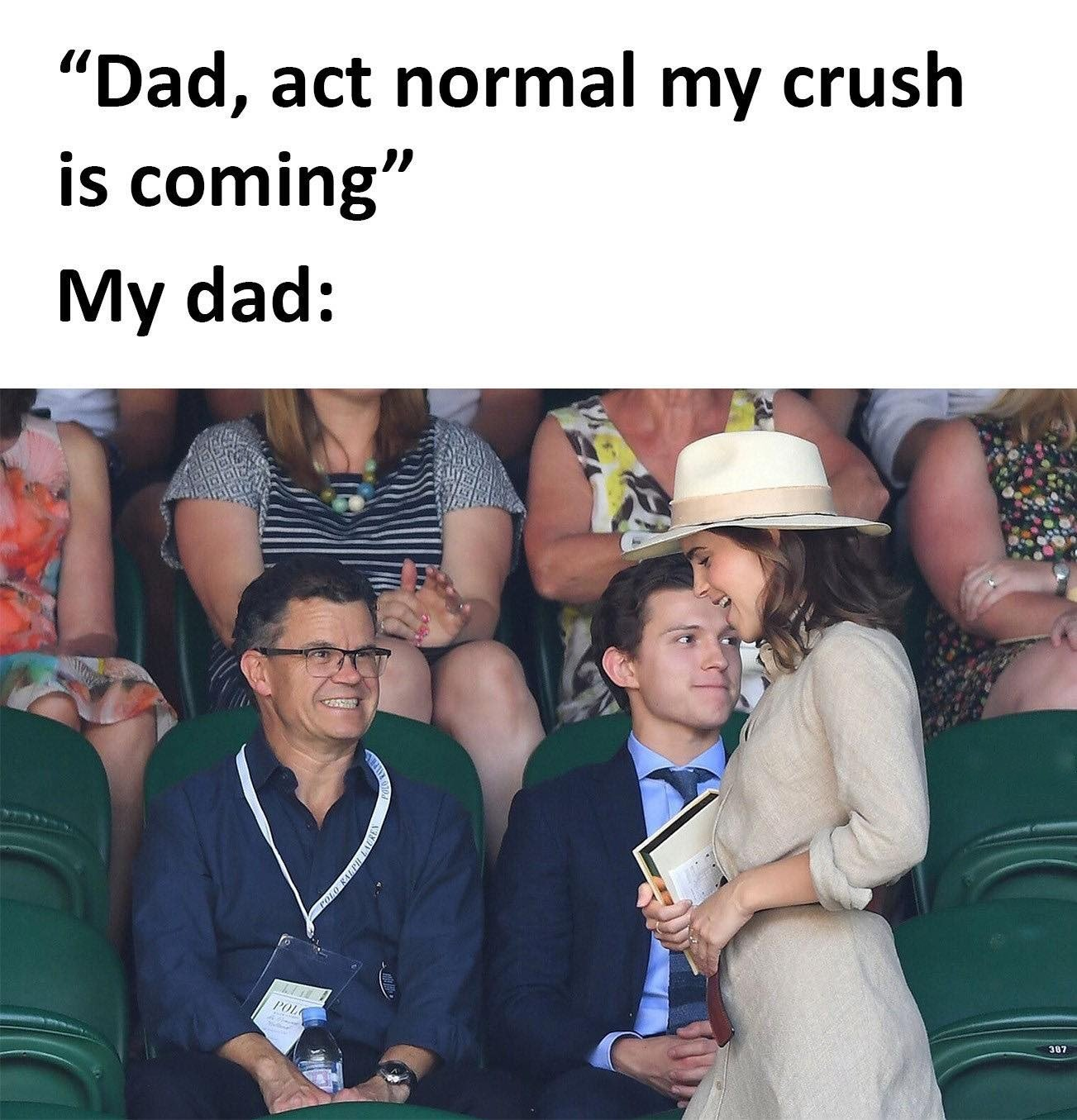 Dad, Act Normal...