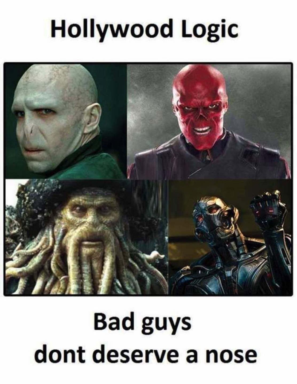 Bad Guys Don't...