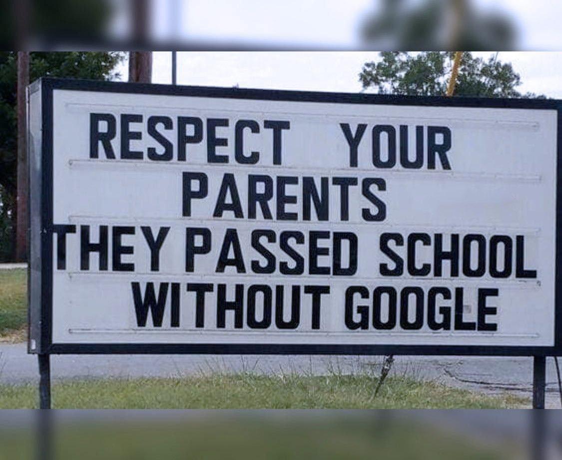 Respect Your Parents...