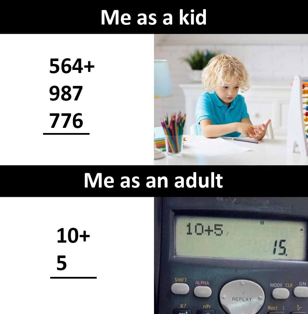 Me As A...