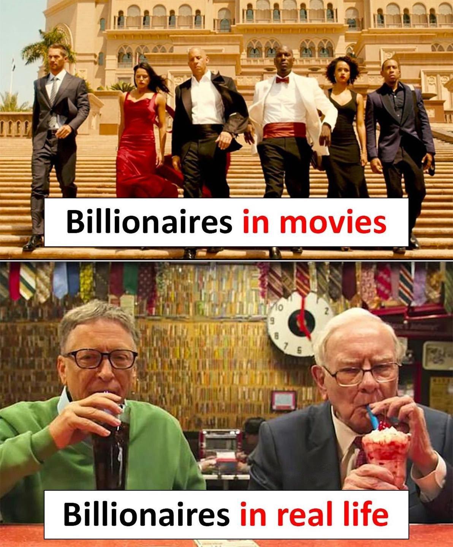 Billionaires In Movies...