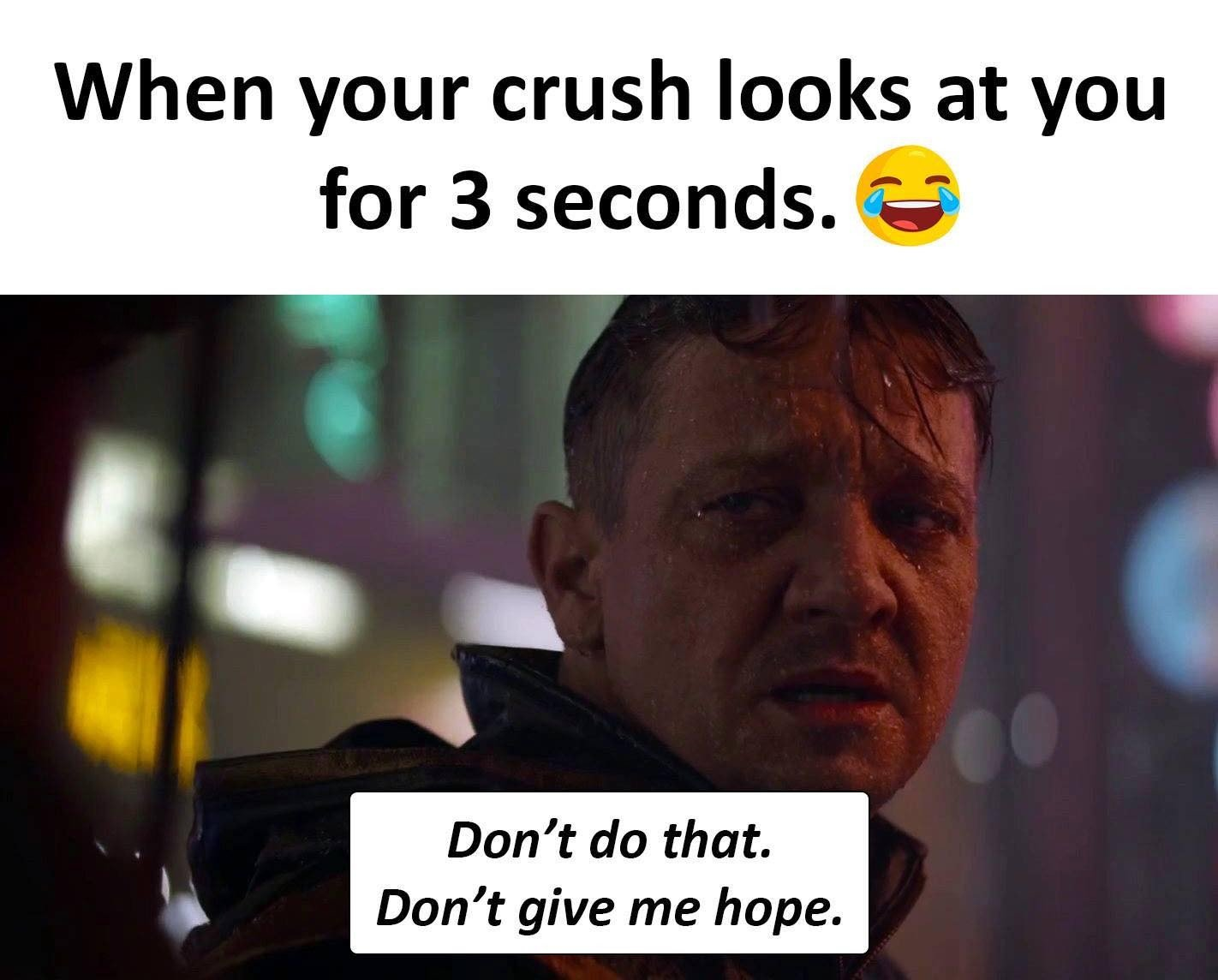 When Your Crush...
