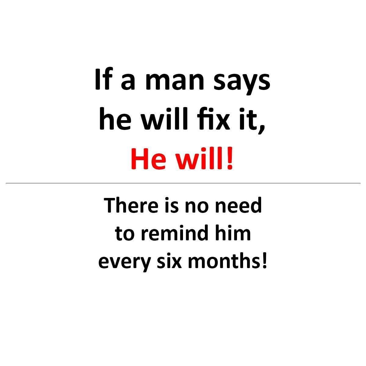 If A Man...