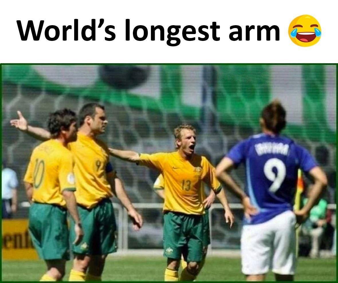 World's Longest Arm...
