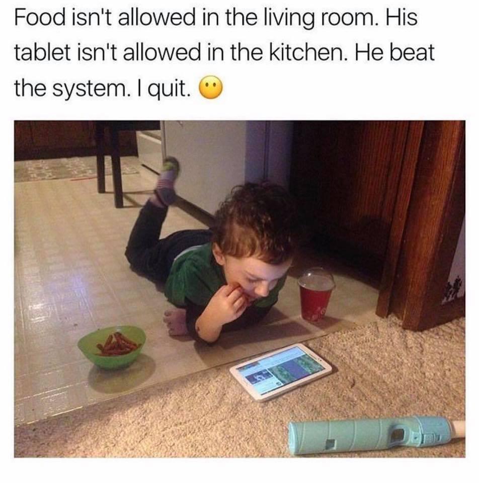 Food Isn't Allowed...