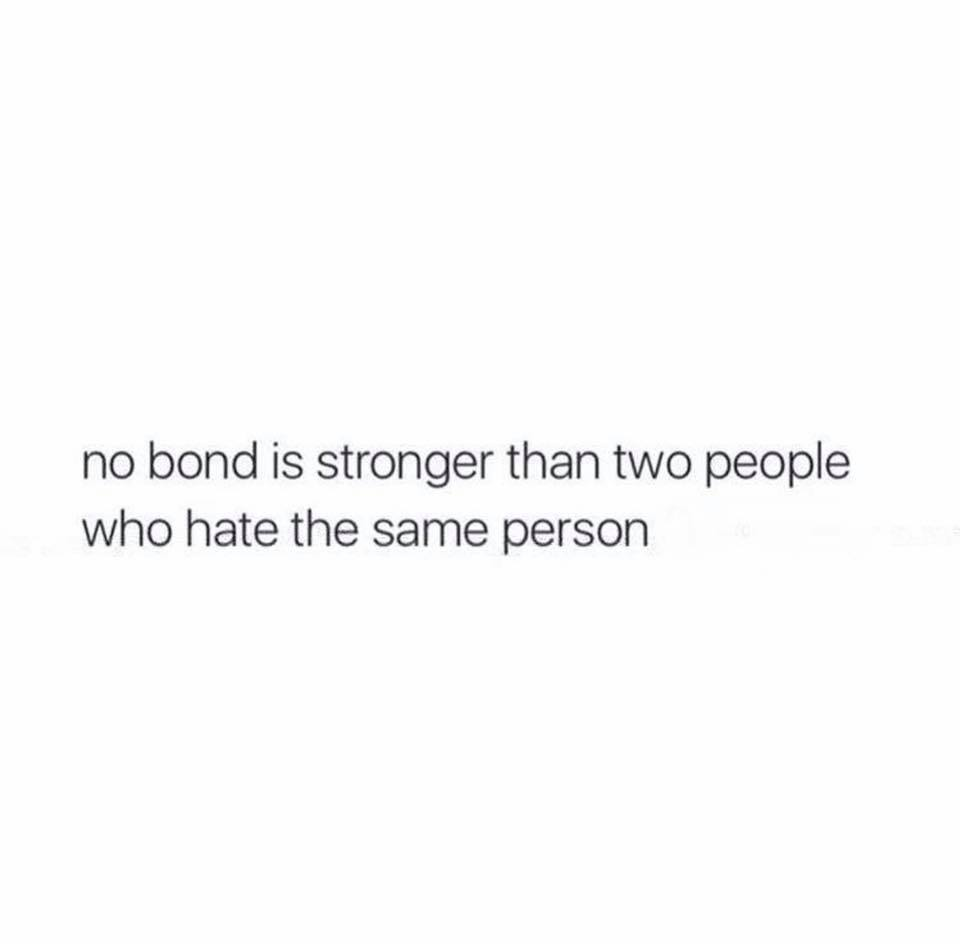 No Bond Is...