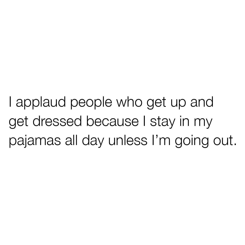 I Applaud People...