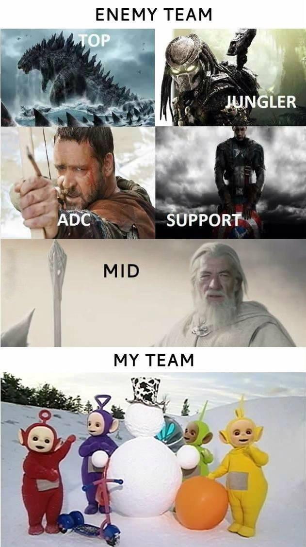 Enemy Team...