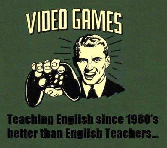Video Games Teaching...