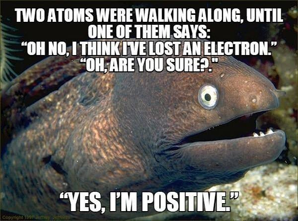 Two Atoms Were...
