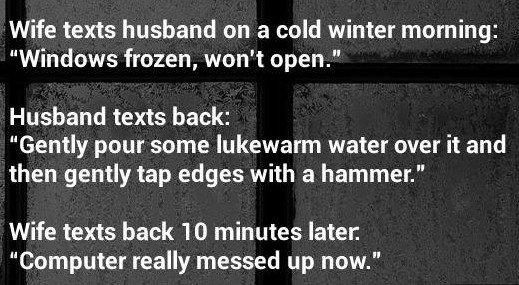 Wife Texts Husband...