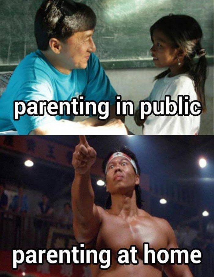 Parenting In Public...