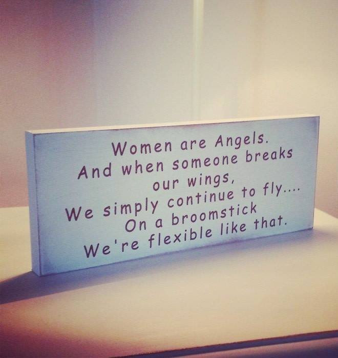 Women Are Angles...