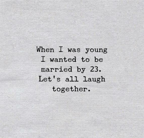 When I Was...