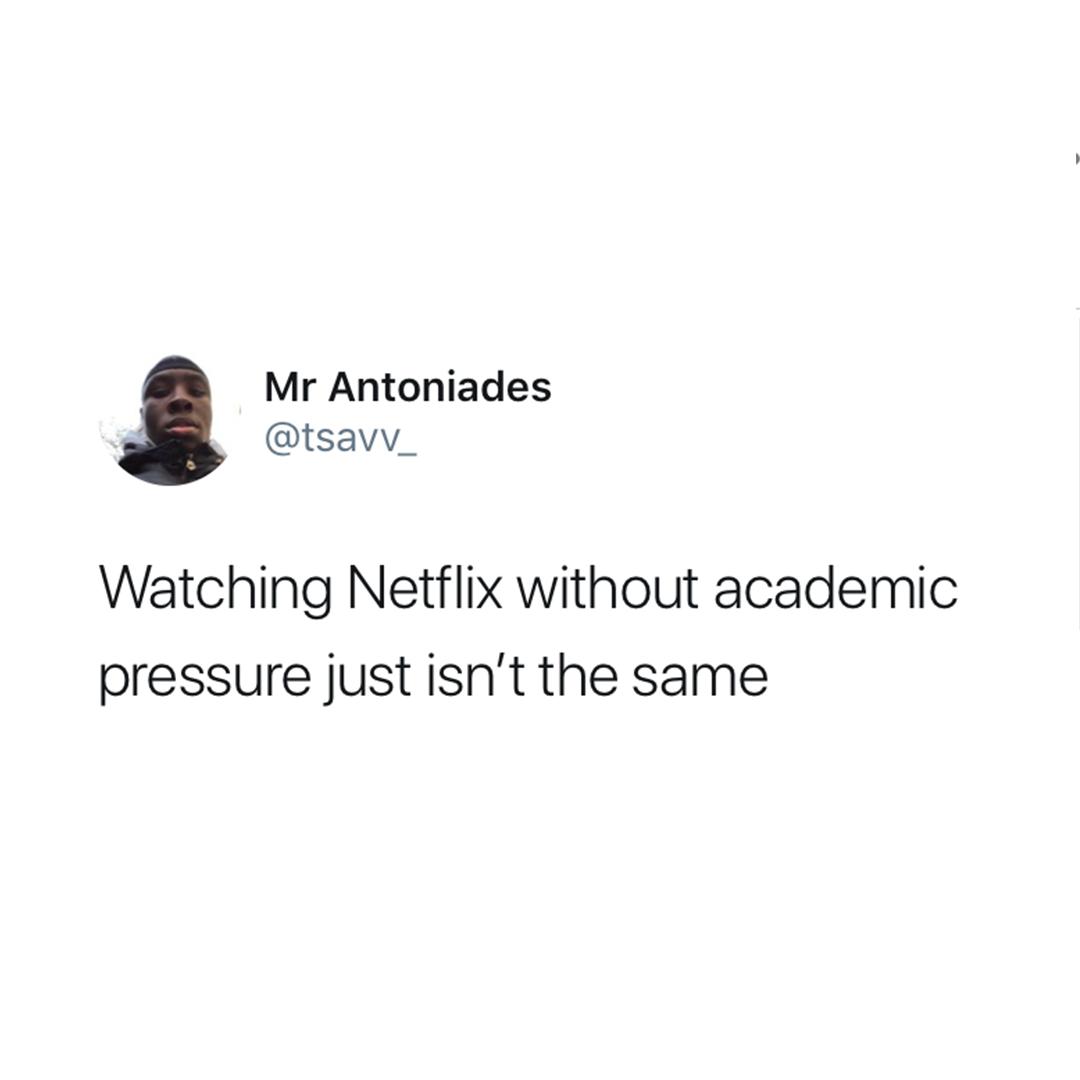 Watching Netflix Without...