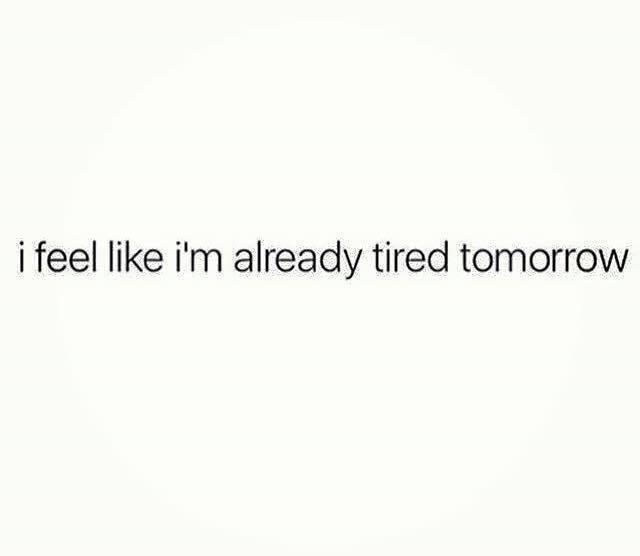 I Feel Like...