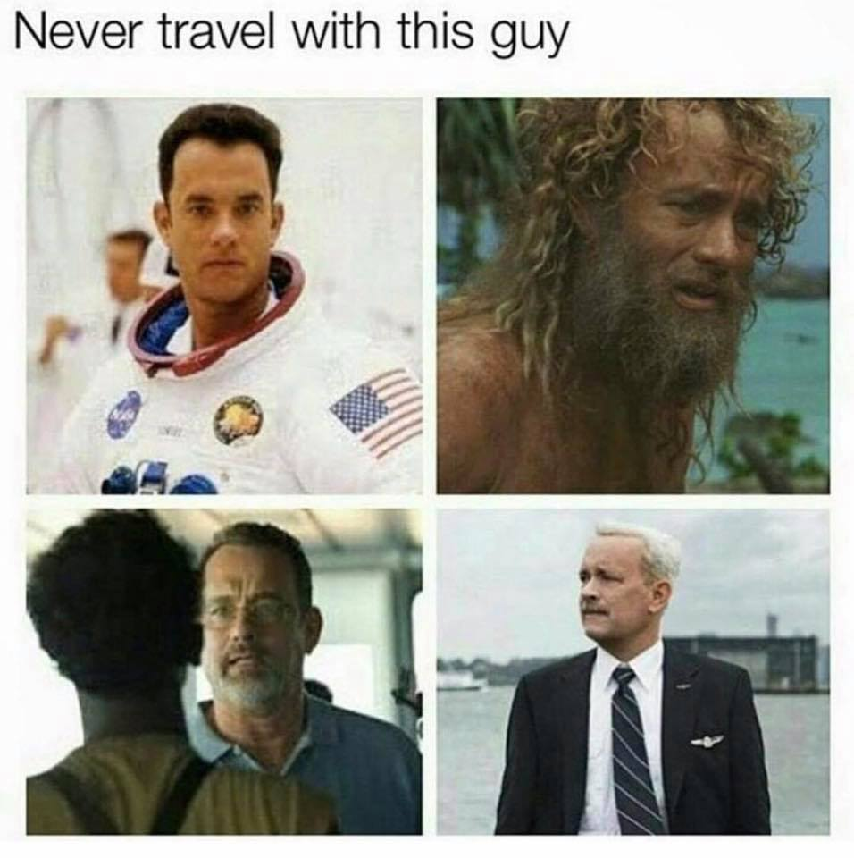 Never Travel With...