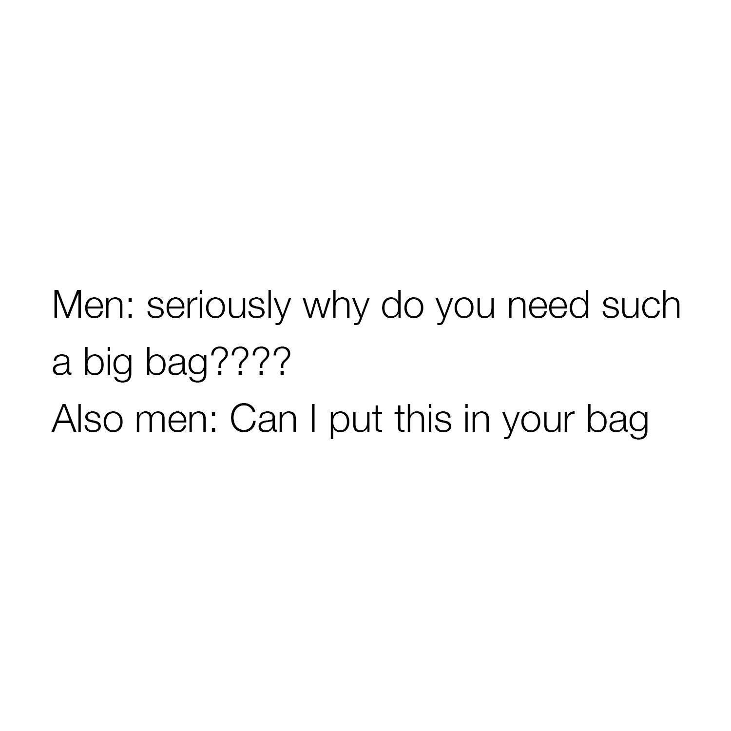 Men: Seriously Why...