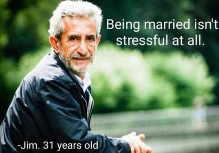 Being Married Isn't...