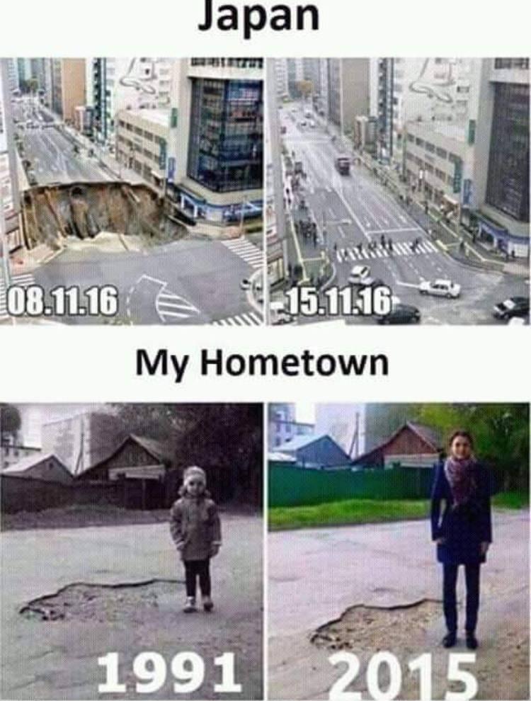 Japan Vs My Hometown...