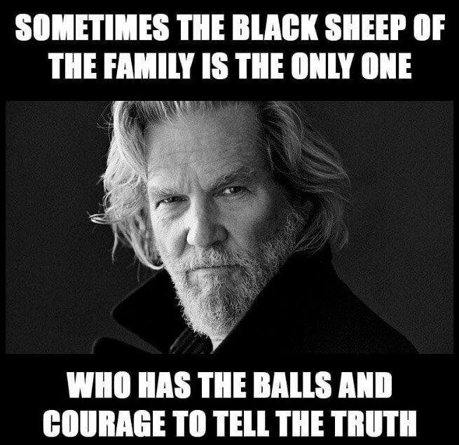 Sometimes The Black...