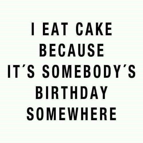 I Eat Cake...